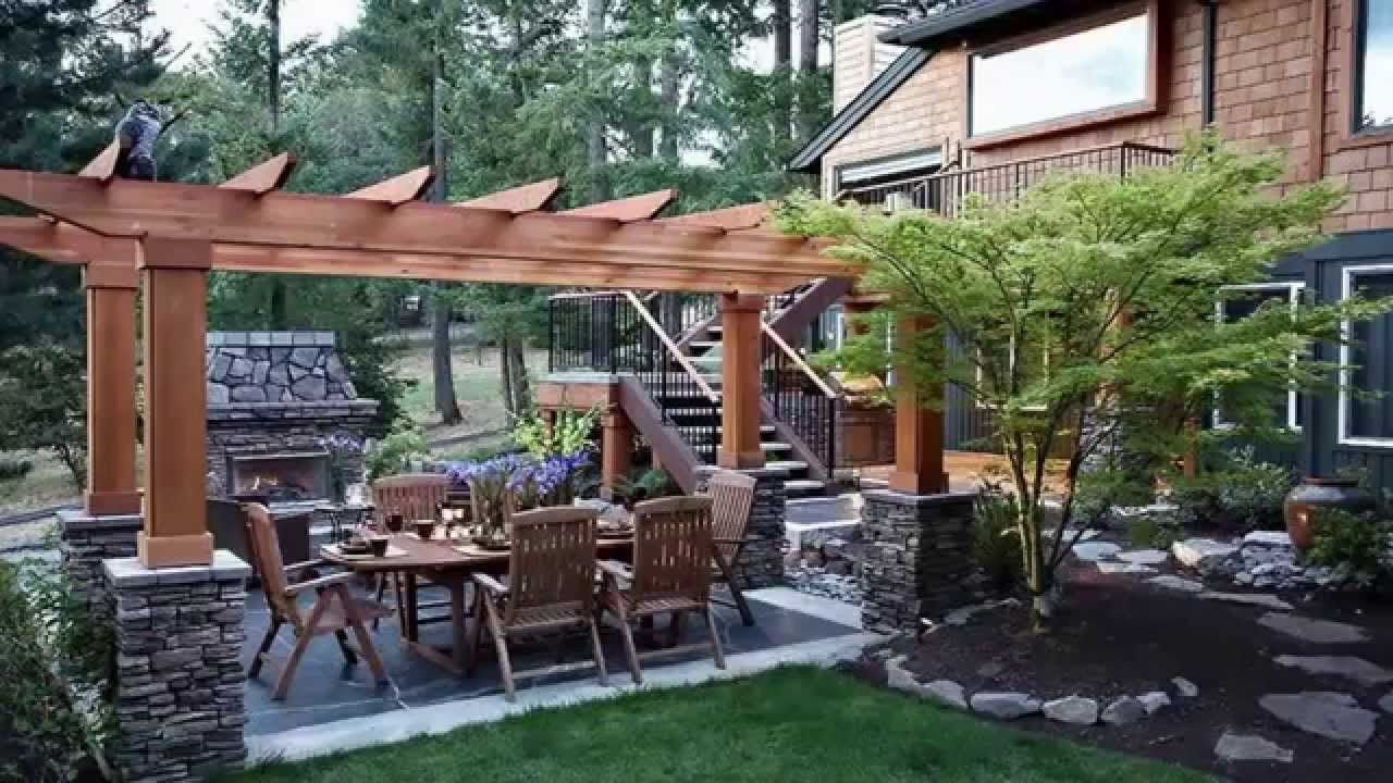 landscape designs backyard [landscaping ideas]*backyard landscape design ideas* - youtube ZGPQKTX